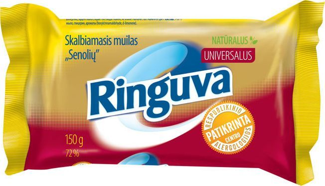 Ringuva Clean mydło do prania SENOLS 150 g 1