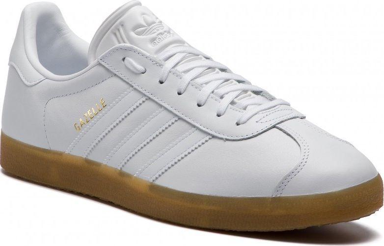 Adidas Białe Buty Sportowe Damskie Gazelle Wyprzedaż