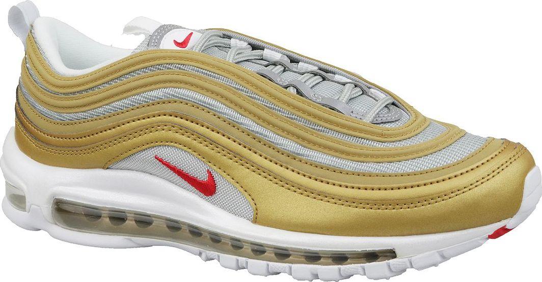 unikalny design Cena fabryczna sportowa odzież sportowa Nike Buty męskie Air Max 97 SSL biało-złote r. 44 (BV0306-700) ID produktu:  5673039