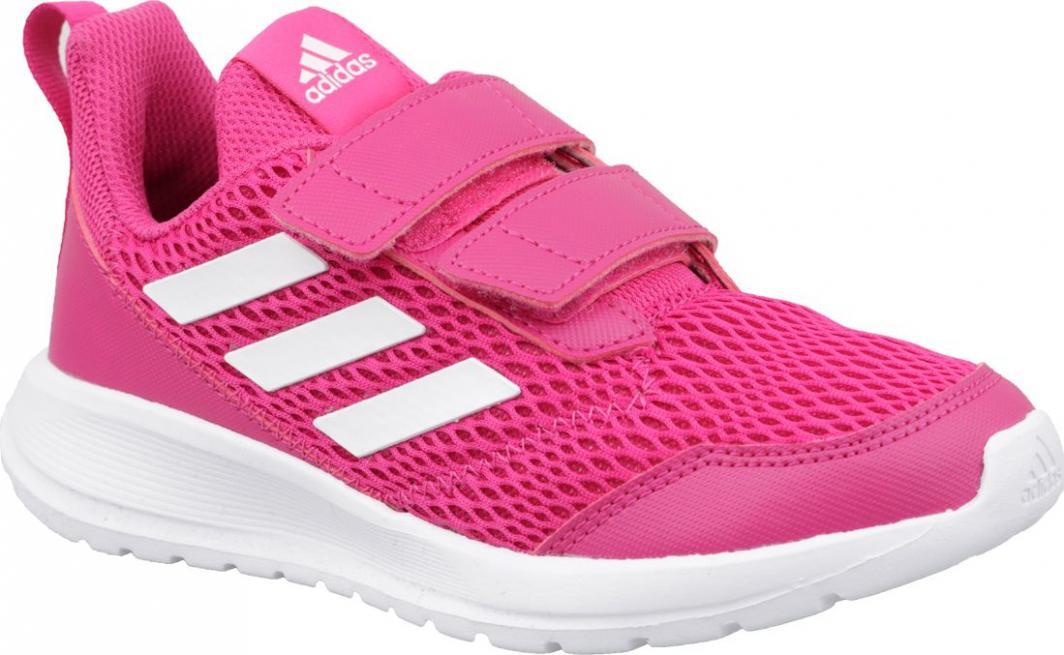 1d6e57a11b7b2 Adidas Buty dziecięce AltaRun CF K CG6895 różowe r. 30 w Sklep-presto.pl