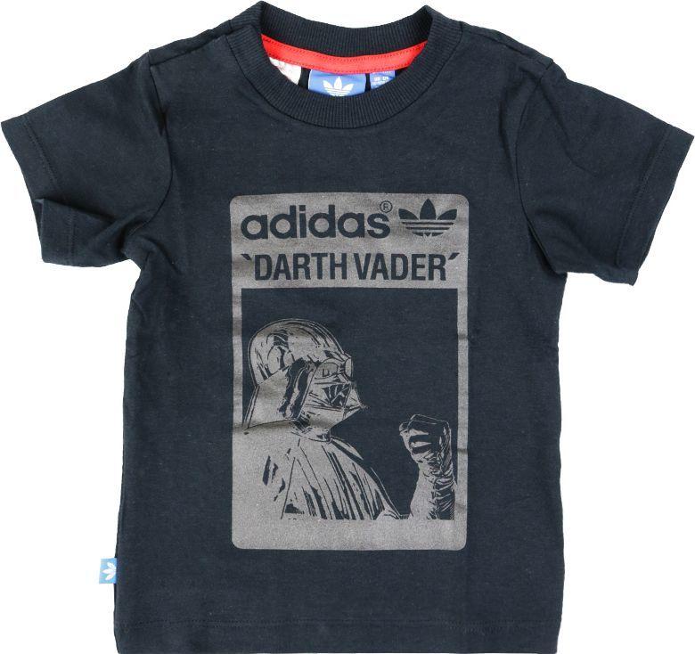 Adidas Koszulka dziecięca Star Wars Darth Vader Tee czarna r. 98 (S14386) ID produktu: 5673681