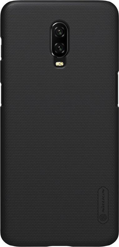 Nillkin Nillkin Super Frosted Shield wzmocnione etui pokrowiec OnePlus 6T czarny uniwersalny 1