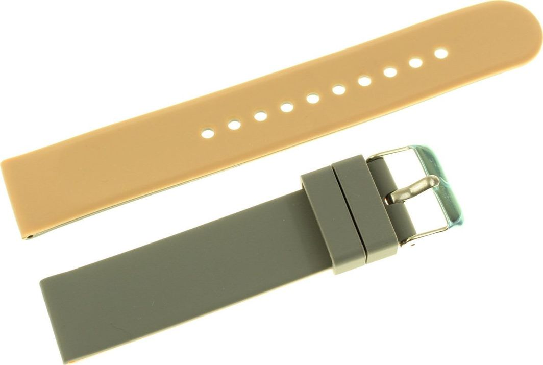 Tekla Silikonowy dwustronny pasek do zegarka 20 mm Tekla SK4.20 uniwersalny 1