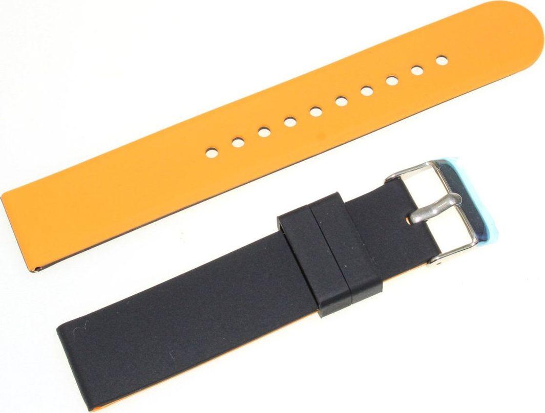 Tekla Silikonowy dwustronny pasek do zegarka 20 mm Tekla SK2.20 uniwersalny 1