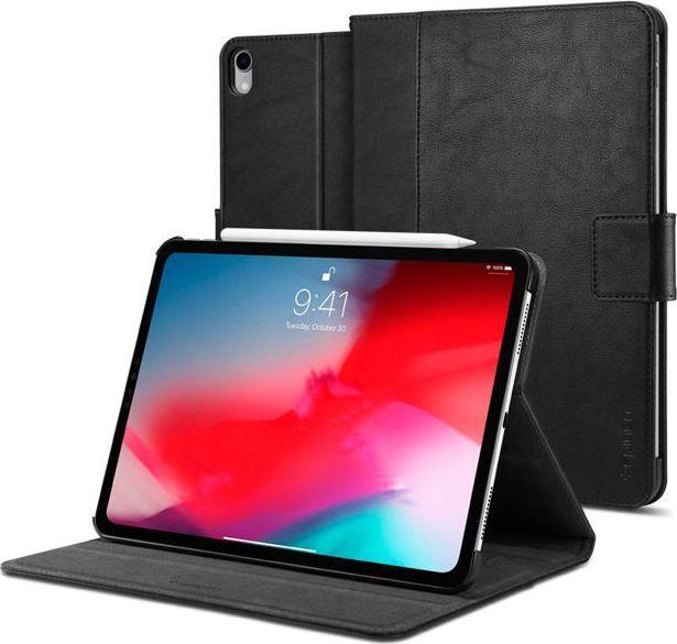 8a6f1f7a866e3d Spigen Etui Spigen Stand Folio do Apple iPad Pro 12.9 2018 Black  uniwersalny w Morele.net