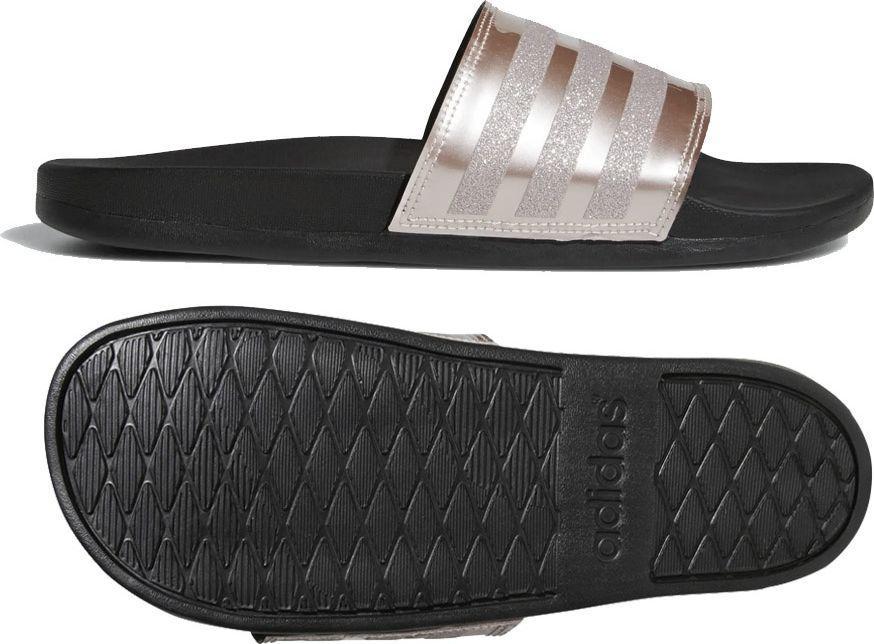czarne klapki adidas damskie rozmiar 38