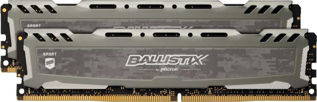 Pamięć Ballistix Ballistix Sport LT, DDR4, 16 GB, 3000MHz, CL15 (BLS2K8G4D30AESBK) 1