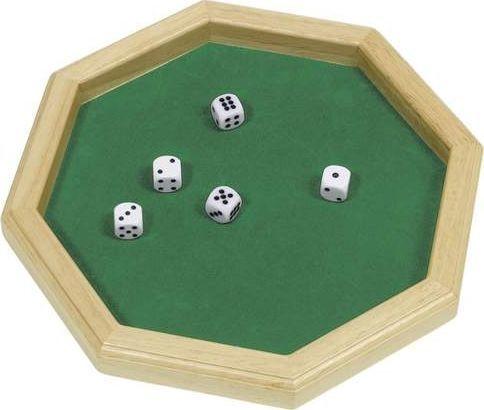Goki 5 kości do gry na tacy uniw 1