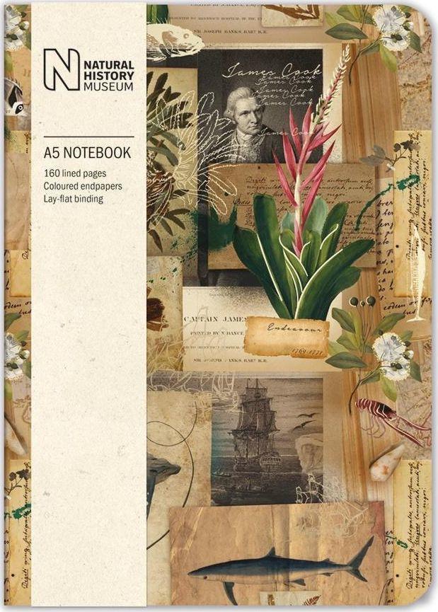 Museums & Galleries Notatnik ozdobny A5 Captain Cook's Scrapbook 1