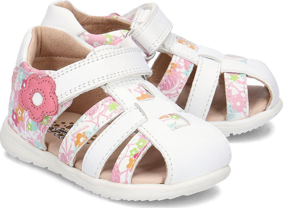 garvalin garvalin sandały dziecięce a blanco y flores 23 id