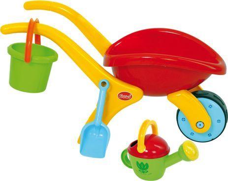BigJigs Taczki i narzędzia do zabawy w piasku dla dzieci - Zestaw uniw 1