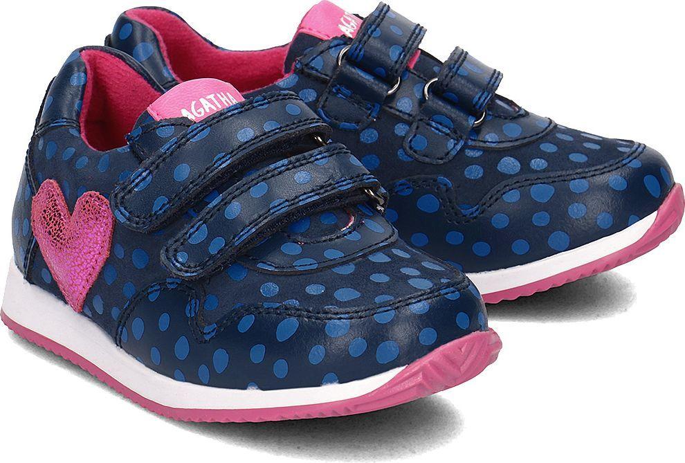 d51c584a6c1c4 Agatha Ruiz de la Prada Agatha - Sneakersy Dziecięce - 181926 A-AZUL Y  PUNTOS 29 w Sklep-presto.pl