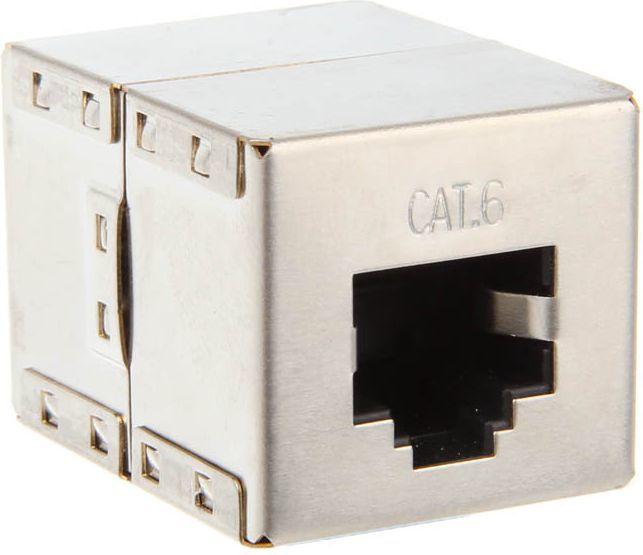 InLine Sprzęgło krosowe Cat.6 - 2x RJ45 (69990B) 1