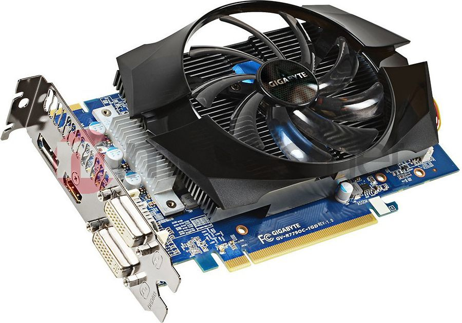 Karta graficzna Gigabyte Radeon HD 7790, 1GB DDR5 (128 Bit), HDMI, DP, DVI, BOX (GV-R779OC-1GD) 1