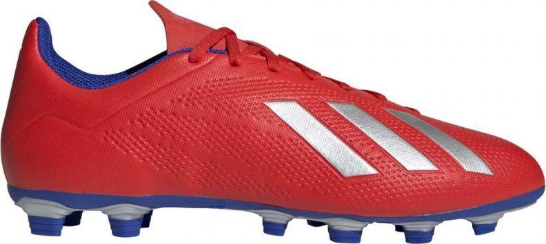 Buty piłkarskie adidas X 18.4 FG czerwone BB9376