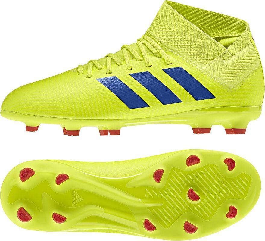836b676c Adidas Buty piłkarskie Jr Nemeziz 18.3 FG J żółte r. 36 (CM8505) w  Sklep-presto.pl