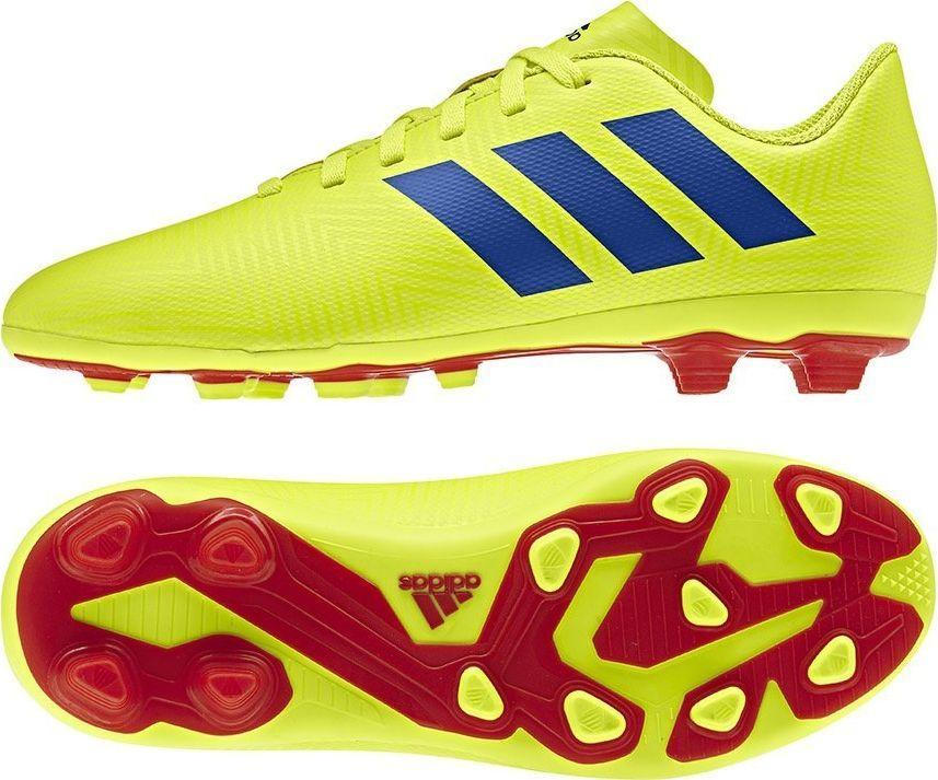nowy styl życia ogromny wybór klasyczny Adidas Buty piłkarskie Nemeziz 18.4 FxG J CM8509 żółte r. 37 1/3 ID  produktu: 5693168