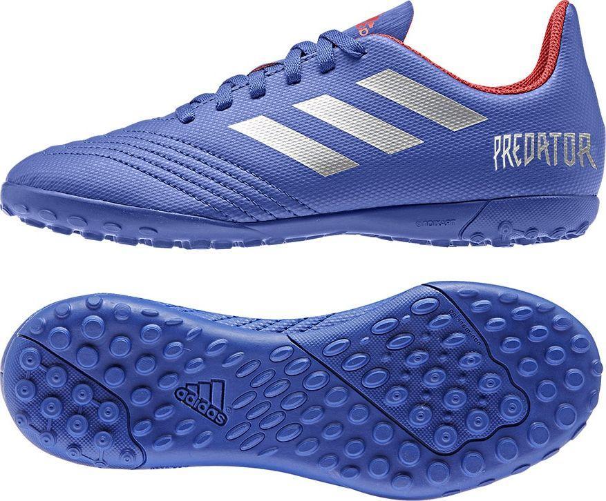 Buty piłkarskie halowe Predator 19.4 IN Adidas (niebieskie