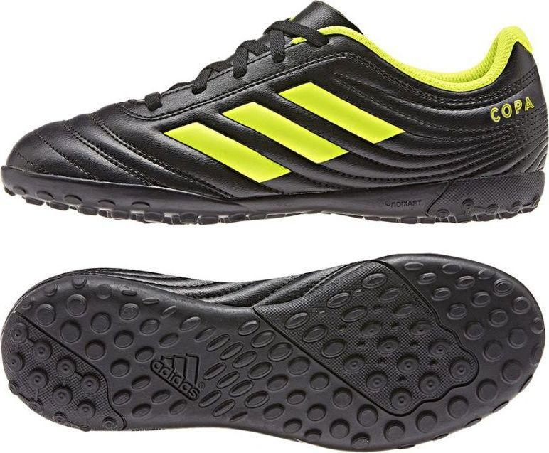 Adidas Buty piłkarskie Copa 19.4 TF J D98100 czarne r. 36 ID produktu: 5693381