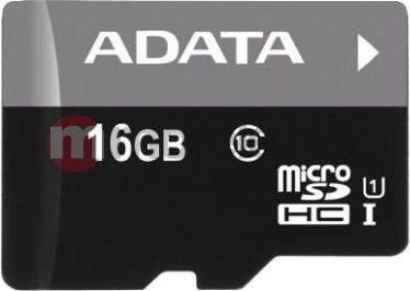 Karta ADATA Premier MicroSDHC 16 GB Class 10 UHS-I/U1  (AUSDH16GUICL10R) 1