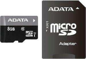 Karta ADATA MicroSDHC 8 GB Class 10  (AUSDH8GUICL10RA1) 1