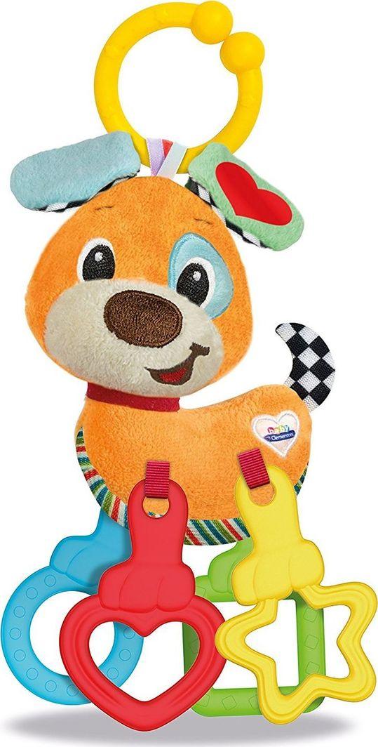 Clementoni Barškutis-kramtukas Šuniukas Clementoni Baby 1