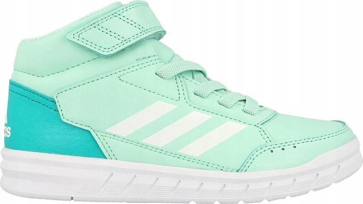Adidas Buty dziecięce Altasport Mid El zielone r. 39 13 (AH2557) ID produktu: 5702616