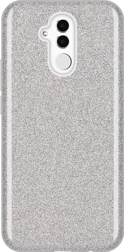Wozinsky Wozinsky Glitter Case błyszczące etui pokrowiec z brokatem Huawei Mate 20 Lite srebrny uniwersalny 1