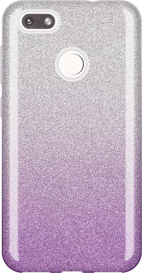Wozinsky Wozinsky Glitter Case błyszczące etui pokrowiec z brokatem Huawei P9 Lite Mini fioletowy uniwersalny 1