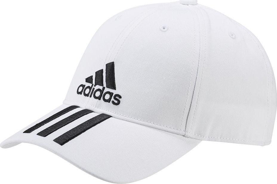 00f8b471b79 Adidas Czapka adidas 6P 3S Cap Cotto roz OSFY biała DU0197 w Sklep-presto.pl