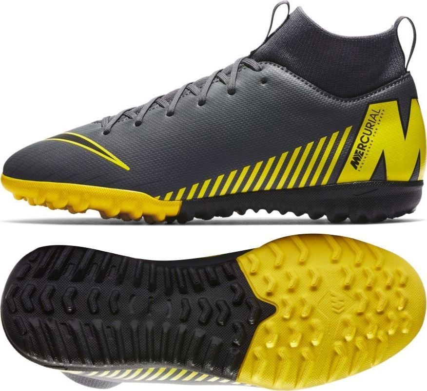 Nike Buty Nike Mercurial JR SuperflyX 6 Academy GS TF AH7344 070 AH7344 070 szary 35 ID produktu: 5704508