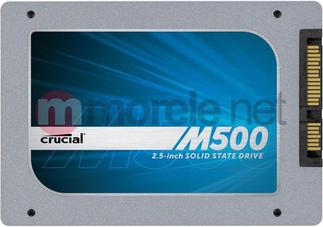 """Dysk SSD Crucial 240 GB 2.5"""" SATA III (CT240M500SSD1) 1"""