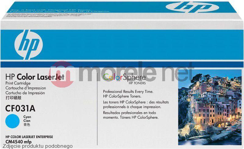 HP toner CF031AC 1