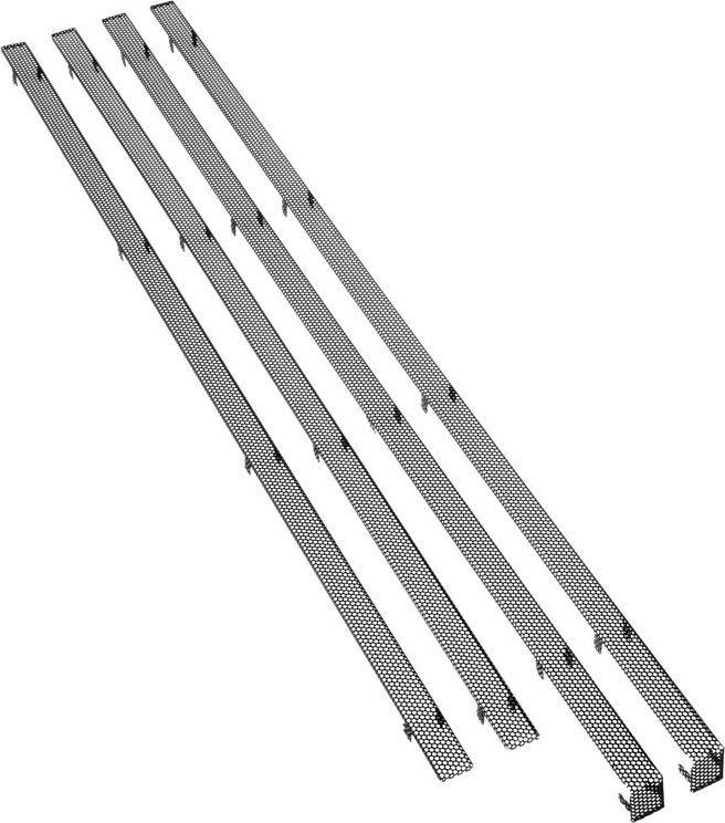 BitFenix Mesh-Stripes do Shinobi XL - czarne (BFC-SNX-500-KX-SP) 1