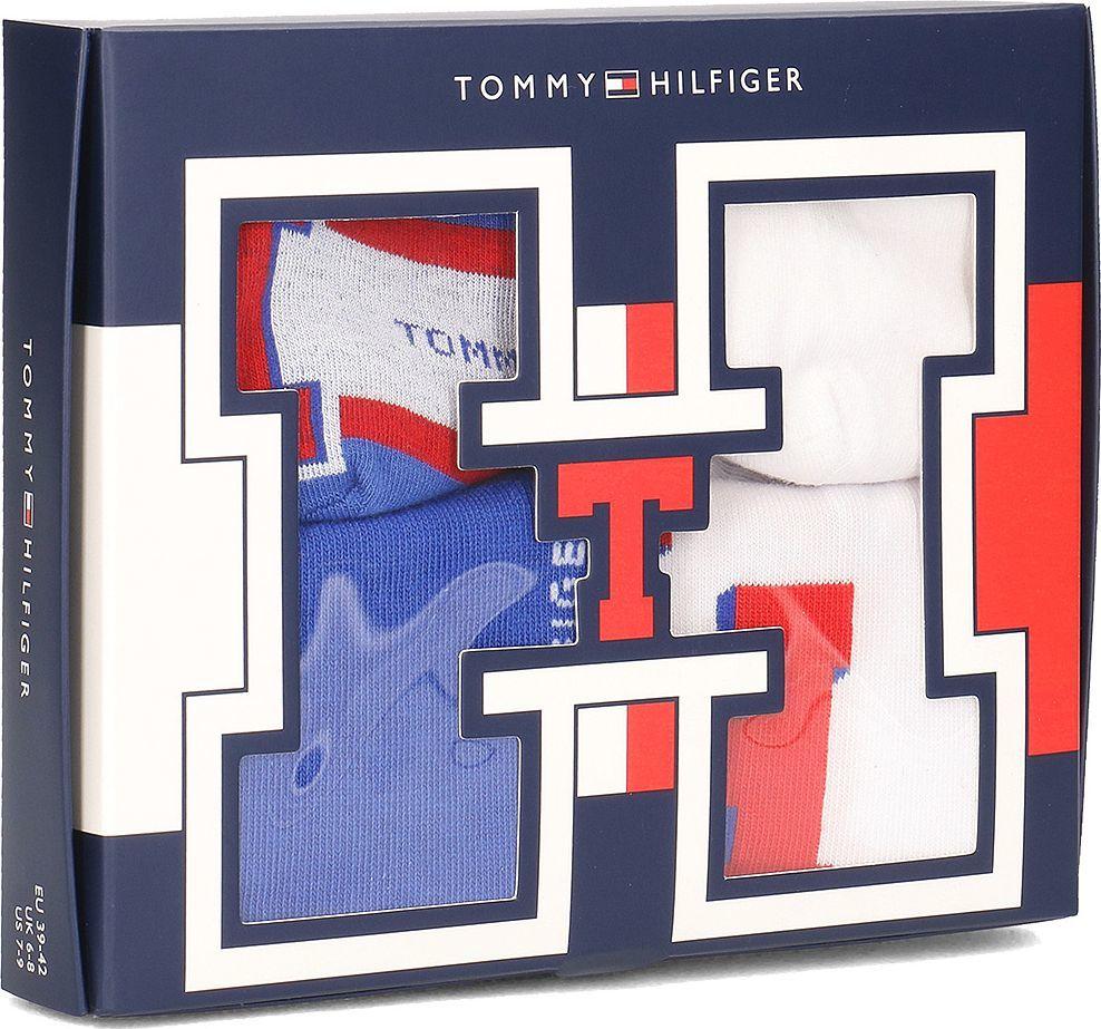 Tommy Hilfiger Tommy Hilfiger 4-Pack - Skarpety Unisex - 392004001 470 43/46 1