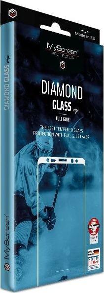 MyScreen Protector Diamond Glass Edge FG do iPhone X/XS czarny/black Full Glue 1