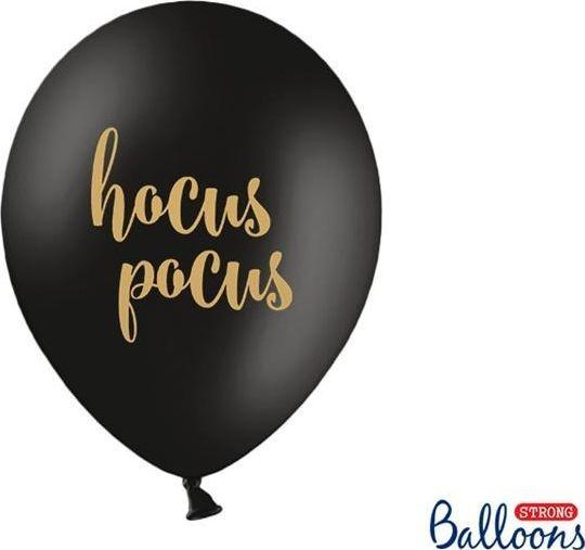 Party Deco Balony Halloween - Hocus Pocus, czarny pastelowy, 30cm, 6 szt. uniwersalny 1