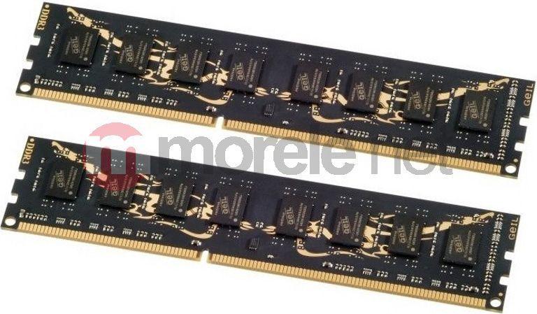 Pamięć GeIL Black Dragon, DDR3, 8 GB, 1600MHz, CL9 (GB38GB1600C9DC) 1