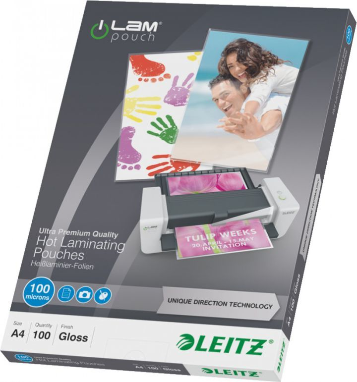 Leitz Folia do laminacji UDT A4 100mic. 74800000 1