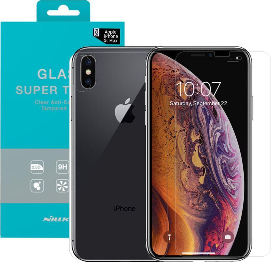 Nillkin Szkło Nillkin Amazing T+ PRO Apple iPhone XS MAX uniwersalny 1