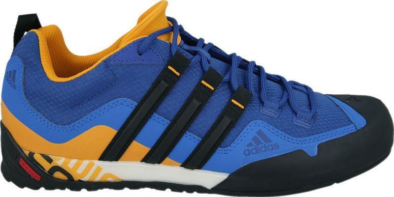 adidas buty zimowe niebieskie