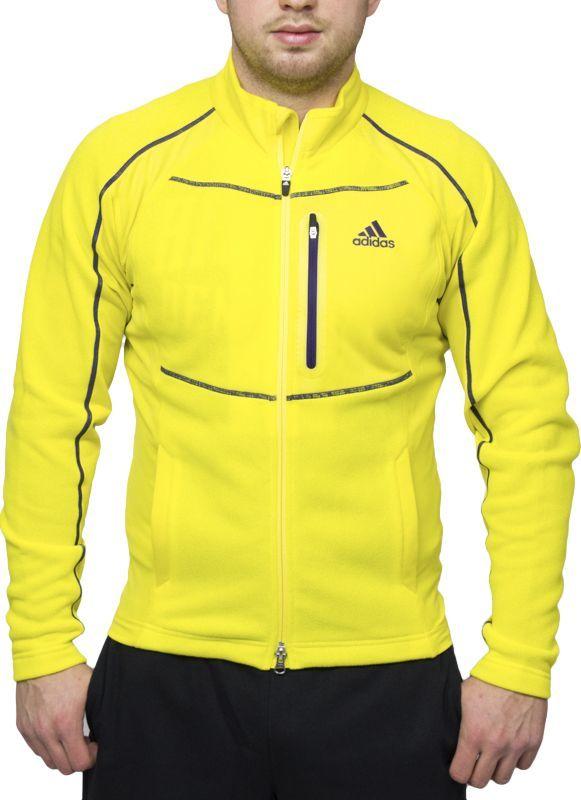 Adidas Bluza męska Leaner Fit żółta r. L (N49895) ID produktu: 5751177
