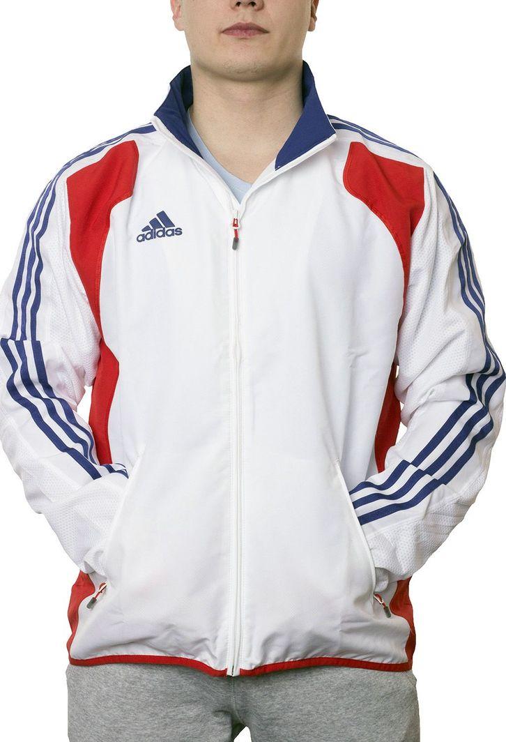 później sprzedaż online kup tanio Adidas Bluza piłkarska France biało-niebieska r. 192 (P07421) w  Sklep-presto.pl