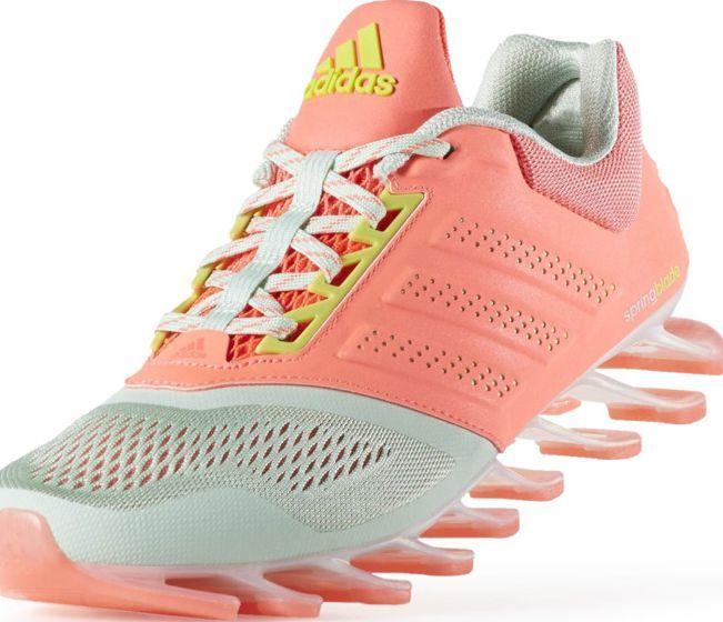 9c286a91 Adidas Buty damskie Springblade Drive 2 W pomarańczowe r. 39 1/3 (D70331) w  Sklep-presto.pl