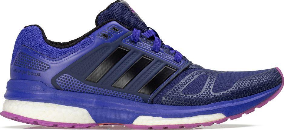 14317021 Adidas Buty damskie Revenge Boost 2 W Techfit niebieskie r. 38 2/3 (B40044)  w Sklep-presto.pl