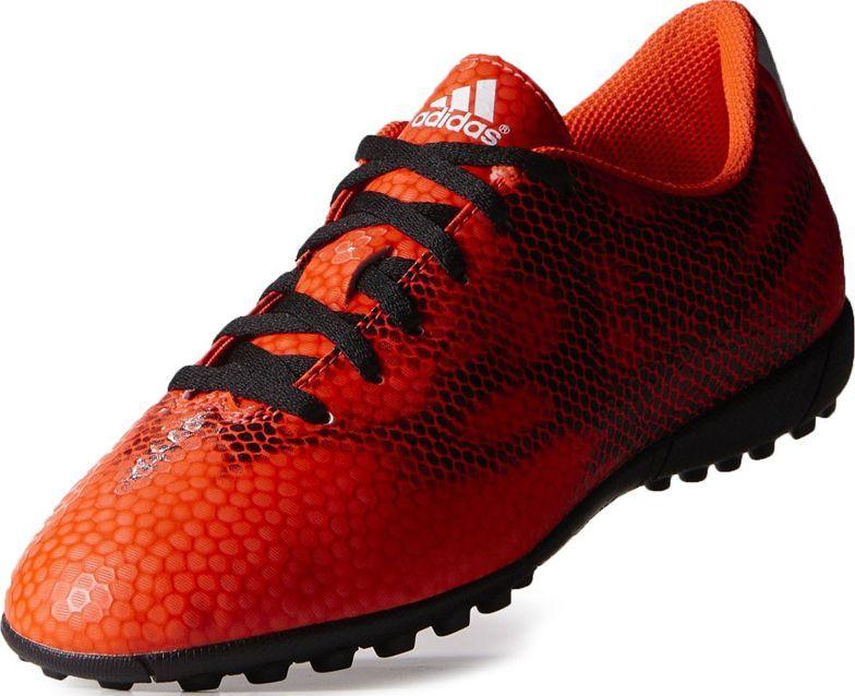 Adidas Buty piłkarskie F5 TF pomarańczowo-czarne r. 37 1/3 (B40563) 1