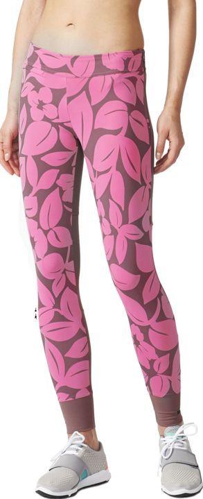 Adidas By Stella Mccartney Spodnie Damskie Legginsy Mauve