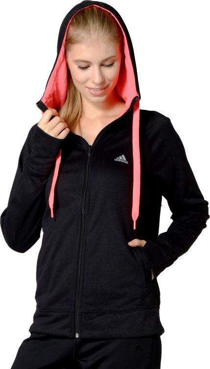 buty sportowe autentyczna jakość w magazynie Adidas Bluza damska Prime Full Zip Hoody W czarna r. XXS (AB4114) ID  produktu: 5755095