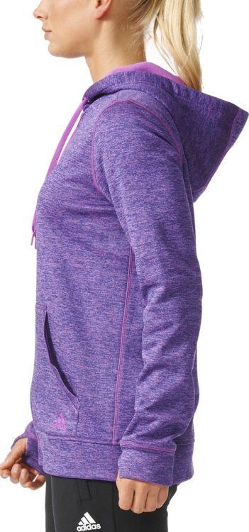Adidas Bluza damska Ti Fleece Fz fioletowa r. S (AY7622) ID produktu: 5755130