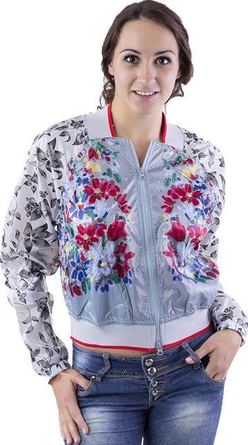 Adidas Kurtka damska Stella McCartney Run Jacket wielokolorowa r. XS (S15615) ID produktu: 5755416